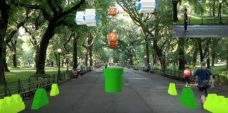 Youtuber recrea el nivel 1-1 de Super Mario Bros en el Central Park de New York