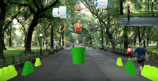 Youtuber recrea el nivel 1-1 de Super Mario Bros en el Central Park de New York