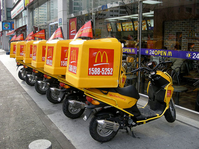 McDonald's anuncia el lanzamiento de McDelivery