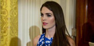 Hope Hicks, Directora de Comunicación interina de Trump