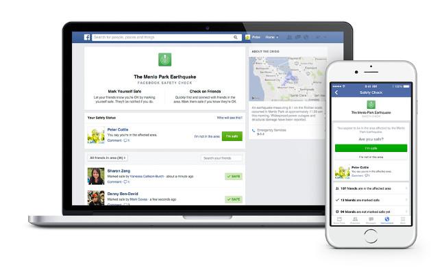 Safety Check de Facebook se vuelve permanente