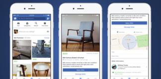 Marketplace de Facebook llega a España