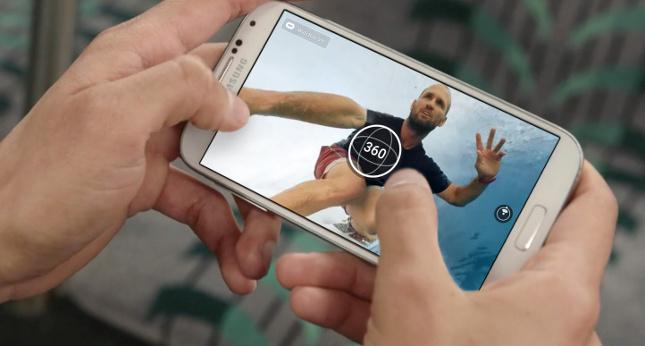 Fotos 360º desde el móvil, lo nuevo de Facebook