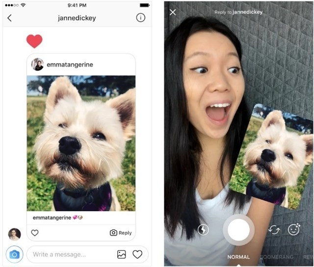 Instagram habilita las fotos y vídeos como opción de respuesta