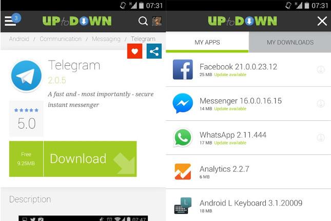 updown apps