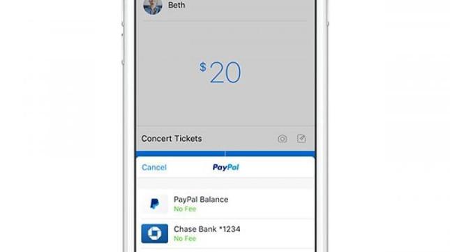 Facebook Messenger permite el pago por Paypal entre los usuarios