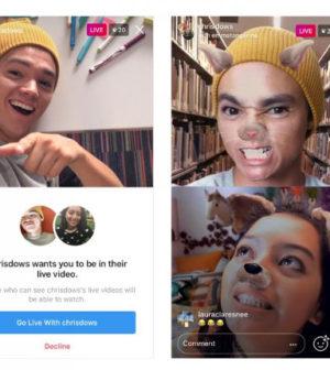 Instagram se actualiza y permite realizar la transmisión de videos de dos usuarios a la vez