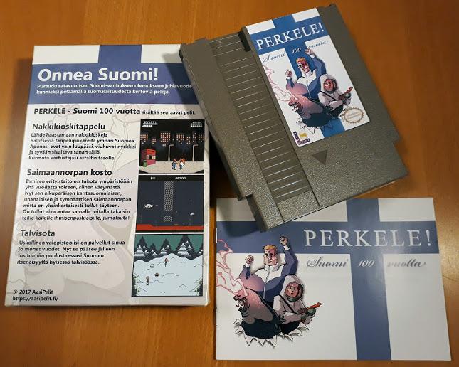 AasiPelit lanza un videojuego de NES para celebrar los 100 años de Finlandia independiente