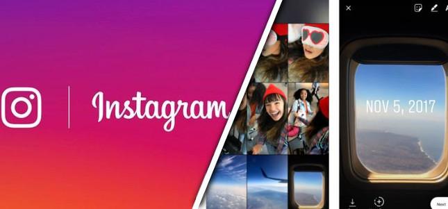 Instagram permite a sus usuarios compartir en sus stories fotos con más de 24 horas