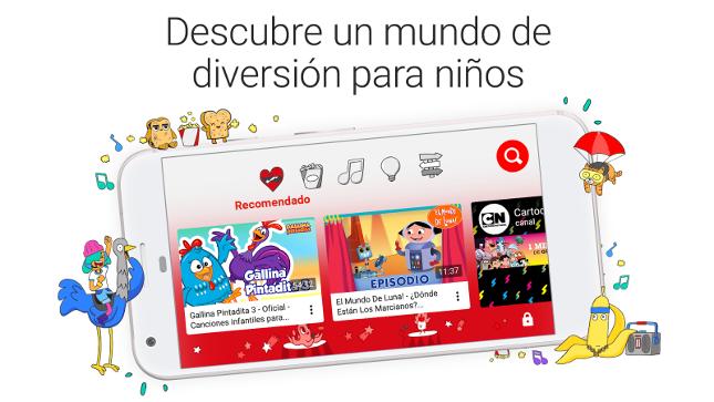 YouTube Kids se actualiza y permite la creación de varios perfiles
