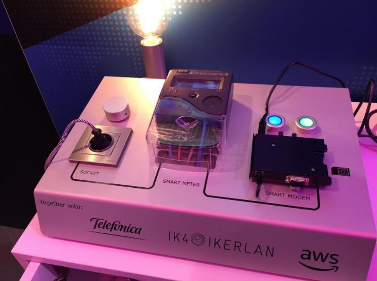 Telefónica. Amazon Web Services IoT