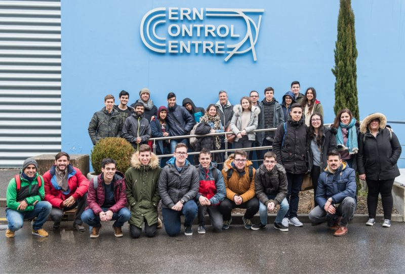 ganadores Desafio STEM en CERN