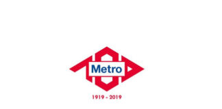 logotipo metro madrid centenario