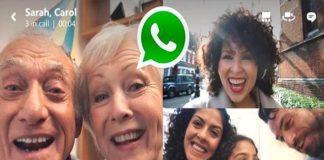WhastApp estrena las videollamadas grupales con hasta cuatro usuarios