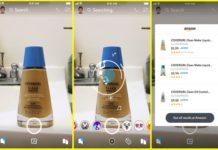 Snapchat incluye las compras de Amazon en su red
