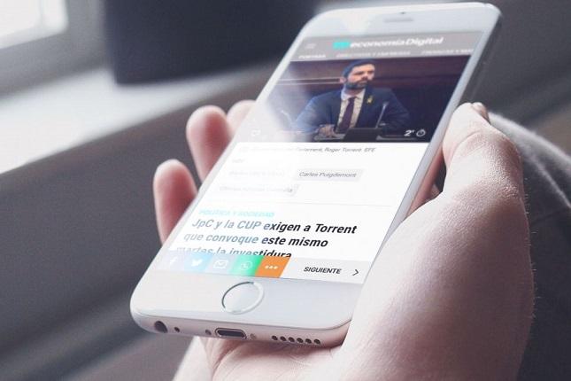 anunciantes españoles invierten cada vez más en prensa digital