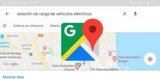 Google Maps indicará dónde cargar tu coche eléctrico