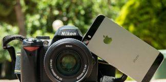 smartphone compite con la industria de las cámaras
