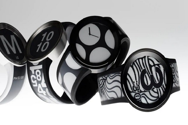 Sony presenta su nuevo reloj con correa y esfera de tinta electrónica