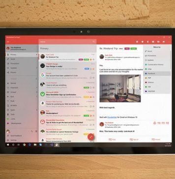 WunderMail es el nuevo servicio de Gmail para Windows 10