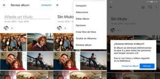 Google Fotos actualiza la creación de álbumes automáticos
