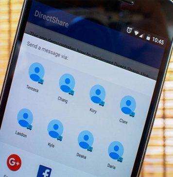 Menú de compartir de Android mejorará su rapidez con nuevo diseño