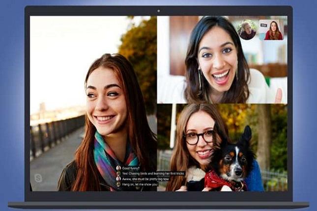 Skype introduce subtítulos en las llamadas de audio y vídeo