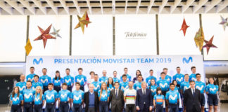 presentacion movistar team 2019