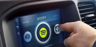 Spotify para coches