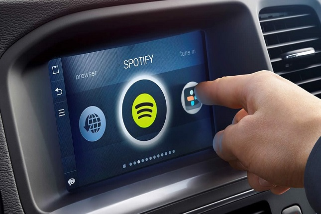 Spotify para coches