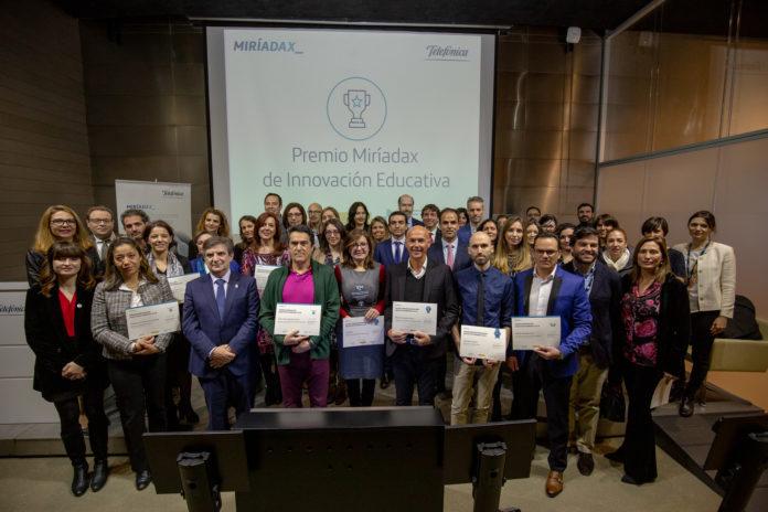 premiados premios innovacion educativa miriadax 2018