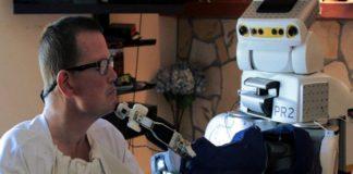 Robot para personas con discapacidad motora grave