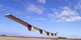 dron potenciado con energía solar