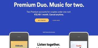 Plan premium para parejas de Spotify