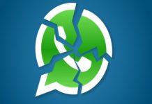 Cancelación de cuentas de Whatsapp
