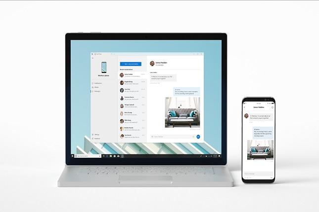 Windows 10 controlará apps del smartphone desde el ordenador