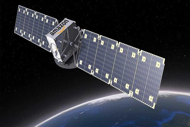 Red de satélites de Amazon