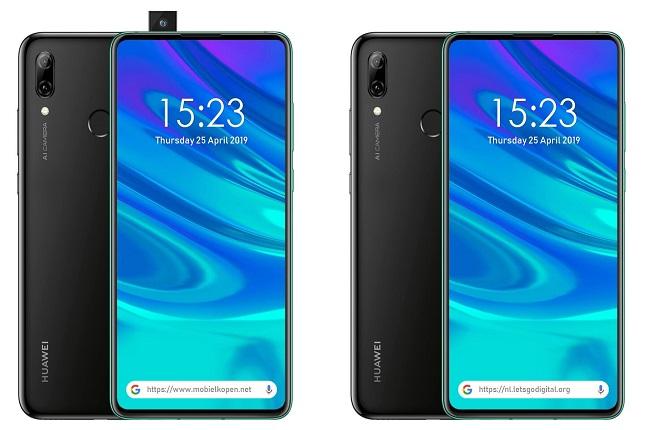 Huawei con cámara retráctil