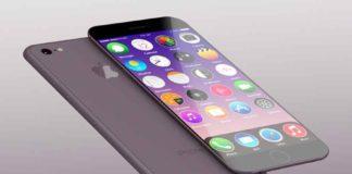 iPhone con pantallas OLED
