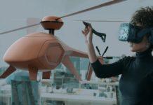 Lápiz que diseña en realidad virtual