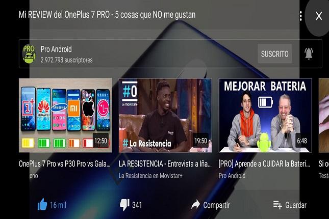 YouTube optimiza su diseño