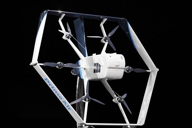 Amazon Prime Air repartirá paquetes con un dron