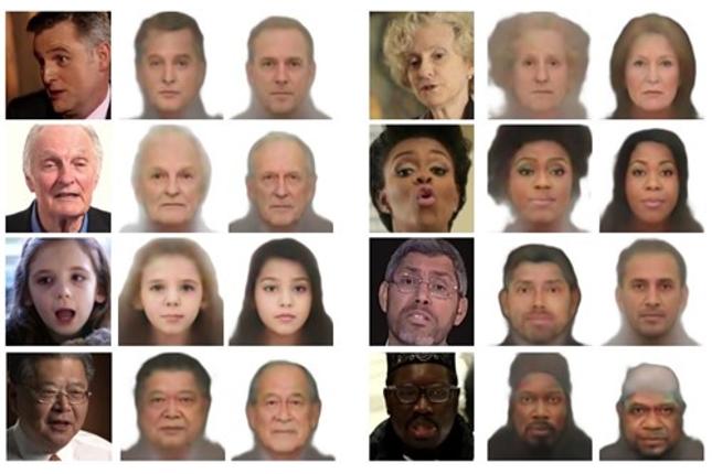 Reconstrucción de rostros con IA