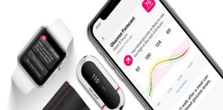 Medidor de glucosa de Apple
