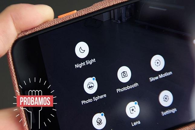 Google mejora el modo noche de su cámara