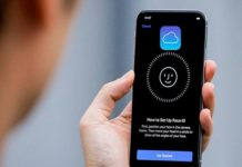 Acceder a iCloud con Face ID y Touch ID