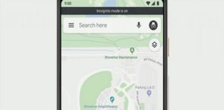 Google Maps prueba modo incógnito en versión móvil