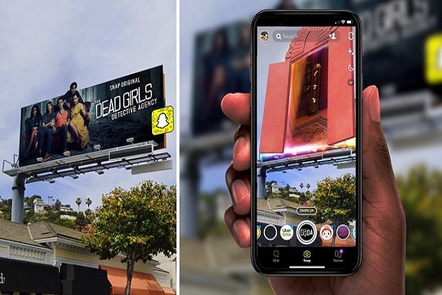 Snapchat une publicidad tradicional y realidad aumentada para comercializar Snap Originals