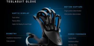 Teslasuit lanza guantes hápticos para sentir los objetos en la realidad virtual