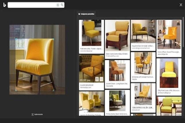 Windows 10 añade la búsqueda de imágenes con Bing Visual Search
